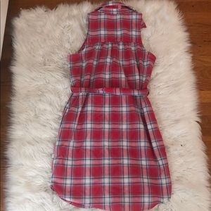 Flannel dress never used (w tag)